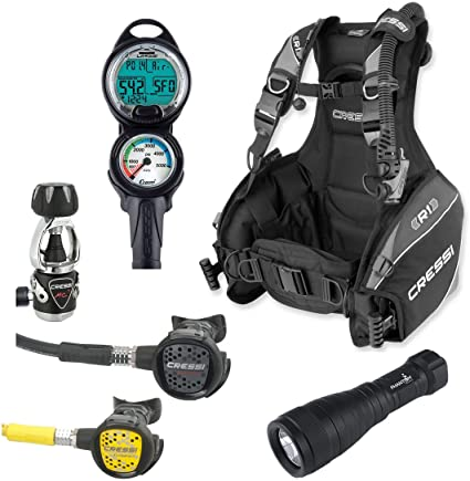 0206 Full Gear Includes Computer And Light (1 Day)